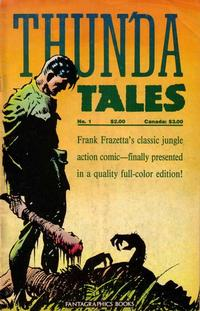 Cover Thumbnail for Frank Frazetta's Thun'da Tales (Fantagraphics, 1987 series) #1