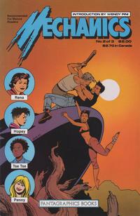 Cover Thumbnail for Mechanics (Fantagraphics, 1985 series) #2