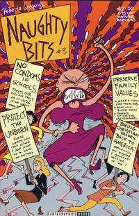 Cover Thumbnail for Naughty Bits (Fantagraphics, 1991 series) #8