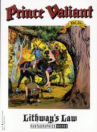 Cover Thumbnail for Prince Valiant (Fantagraphics, 1984 series) #26 - Lithway's Law