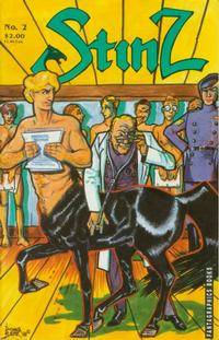 Cover Thumbnail for Stinz (Fantagraphics, 1989 series) #2