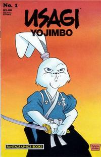 Cover Thumbnail for Usagi Yojimbo (Fantagraphics, 1987 series) #1