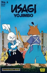 Cover Thumbnail for Usagi Yojimbo (Fantagraphics, 1987 series) #2