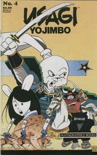 Cover Thumbnail for Usagi Yojimbo (Fantagraphics, 1987 series) #4