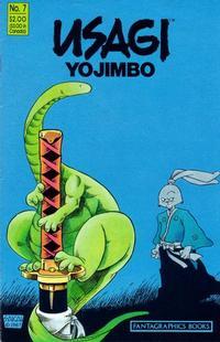 Cover Thumbnail for Usagi Yojimbo (Fantagraphics, 1987 series) #7