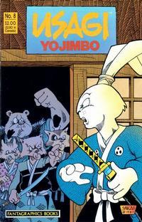 Cover Thumbnail for Usagi Yojimbo (Fantagraphics, 1987 series) #8