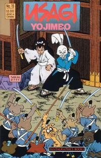 Cover Thumbnail for Usagi Yojimbo (Fantagraphics, 1987 series) #15