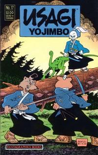 Cover Thumbnail for Usagi Yojimbo (Fantagraphics, 1987 series) #17