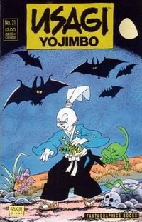 Cover Thumbnail for Usagi Yojimbo (Fantagraphics, 1987 series) #21