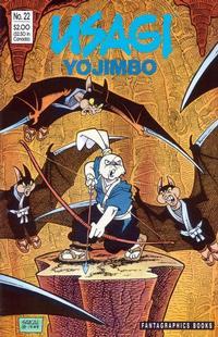 Cover Thumbnail for Usagi Yojimbo (Fantagraphics, 1987 series) #22