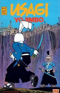 Cover Thumbnail for Usagi Yojimbo (Fantagraphics, 1987 series) #23