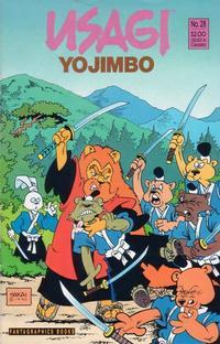 Cover Thumbnail for Usagi Yojimbo (Fantagraphics, 1987 series) #28