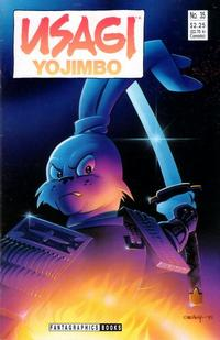 Cover Thumbnail for Usagi Yojimbo (Fantagraphics, 1987 series) #35