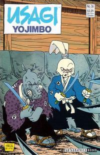 Cover Thumbnail for Usagi Yojimbo (Fantagraphics, 1987 series) #36