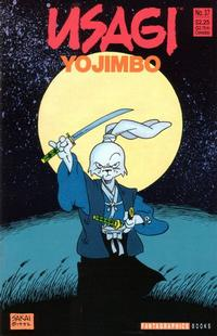 Cover Thumbnail for Usagi Yojimbo (Fantagraphics, 1987 series) #37