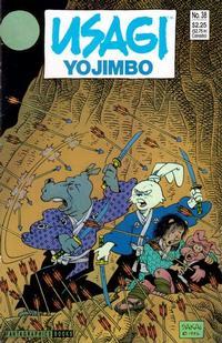 Cover Thumbnail for Usagi Yojimbo (Fantagraphics, 1987 series) #38