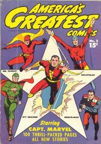 Cover Thumbnail for America's Greatest Comics (Fawcett, 1941 series) #2