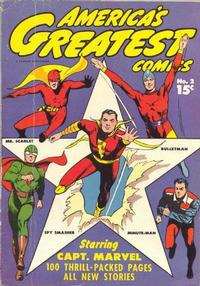 Cover Thumbnail for America's Greatest Comics (Fawcett, 1941 series) #2