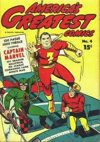 Cover Thumbnail for America's Greatest Comics (Fawcett, 1941 series) #4