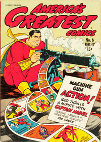 Cover Thumbnail for America's Greatest Comics (Fawcett, 1941 series) #6