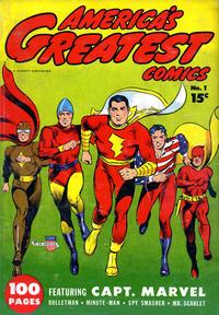 Cover Thumbnail for America's Greatest Comics (Fawcett, 1941 series) #1