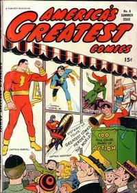 Cover Thumbnail for America's Greatest Comics (Fawcett, 1941 series) #8