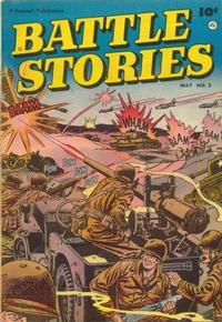 Cover Thumbnail for Battle Stories (Fawcett, 1952 series) #3