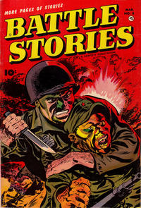 Cover Thumbnail for Battle Stories (Fawcett, 1952 series) #8