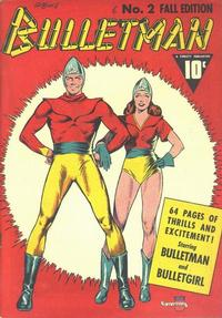 Cover Thumbnail for Bulletman (Fawcett, 1941 series) #2