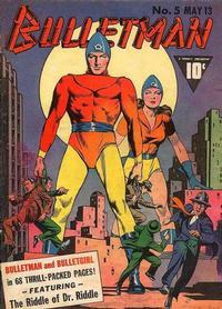 Cover Thumbnail for Bulletman (Fawcett, 1941 series) #5
