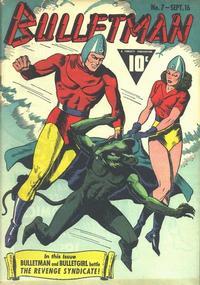 Cover Thumbnail for Bulletman (Fawcett, 1941 series) #7