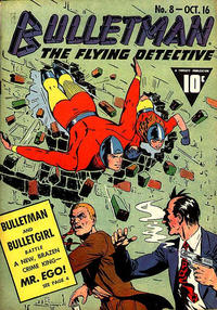 Cover Thumbnail for Bulletman (Fawcett, 1941 series) #8