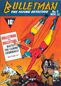 Cover Thumbnail for Bulletman (Fawcett, 1941 series) #9