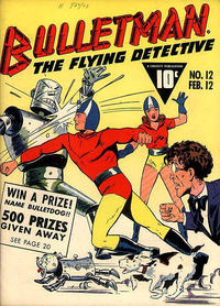 Cover Thumbnail for Bulletman (Fawcett, 1941 series) #12
