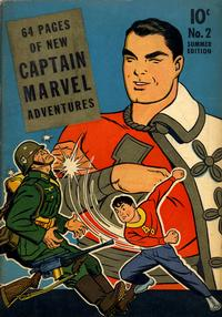 Cover Thumbnail for Captain Marvel Adventures (Fawcett, 1941 series) #2