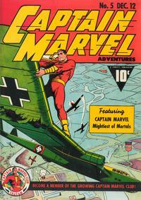Cover Thumbnail for Captain Marvel Adventures (Fawcett, 1941 series) #5
