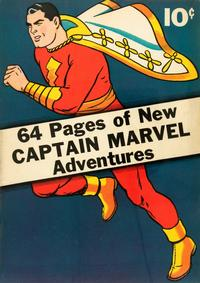 Cover Thumbnail for Captain Marvel Adventures (Fawcett, 1941 series) #[1]