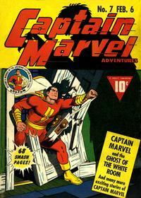 Cover Thumbnail for Captain Marvel Adventures (Fawcett, 1941 series) #7