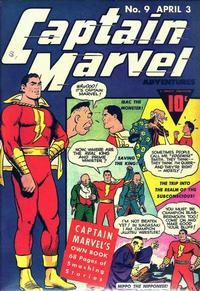 Cover Thumbnail for Captain Marvel Adventures (Fawcett, 1941 series) #9