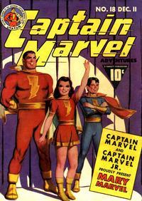Cover Thumbnail for Captain Marvel Adventures (Fawcett, 1941 series) #18
