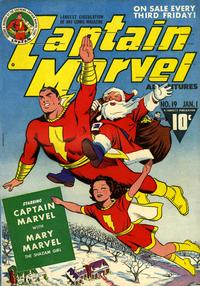 Cover Thumbnail for Captain Marvel Adventures (Fawcett, 1941 series) #19