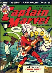 Cover for Captain Marvel Adventures (Fawcett, 1941 series) #23