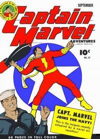 Cover Thumbnail for Captain Marvel Adventures (Fawcett, 1941 series) #27