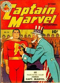 Cover Thumbnail for Captain Marvel Adventures (Fawcett, 1941 series) #28