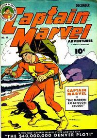 Cover Thumbnail for Captain Marvel Adventures (Fawcett, 1941 series) #30
