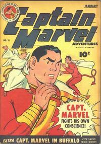 Cover Thumbnail for Captain Marvel Adventures (Fawcett, 1941 series) #31