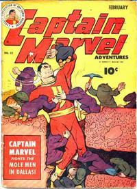 Cover Thumbnail for Captain Marvel Adventures (Fawcett, 1941 series) #32