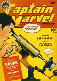 Cover Thumbnail for Captain Marvel Adventures (Fawcett, 1941 series) #35