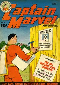 Cover Thumbnail for Captain Marvel Adventures (Fawcett, 1941 series) #36
