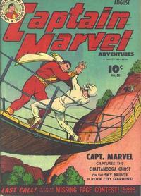 Cover Thumbnail for Captain Marvel Adventures (Fawcett, 1941 series) #38